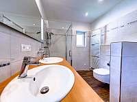 koupelna - chalupa ubytování Těchonín