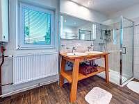 koupelna - chalupa k pronajmutí Těchonín
