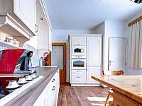 kuchyň - pronájem chalupy Těchonín