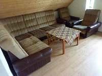 Kuchyně v 1.patře - chalupa ubytování Čenkovice