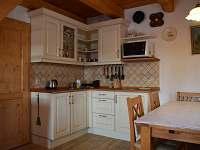 Plně vybavená kuchyňka