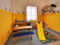 dětský koutek - apartmán k pronajmutí Rokytnice v Orlických horách