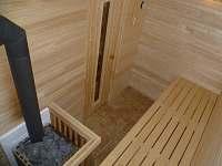 Sauna - pronájem apartmánu Rokytnice v Orlických horách