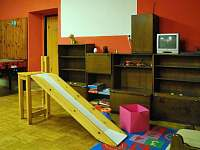 Restaurace dětský koutek - pronájem chaty Zdobnice