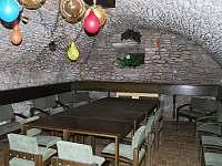 Vinárna - chata k pronajmutí Zdobnice