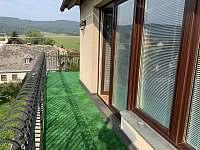 terasa - chalupa k pronajmutí Červená Voda