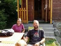 A tady jedna PíáRková: naše děcka na chatě s Alešem Valentou - Čenkovice