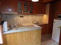 Kuchyňská linka - chata k pronajmutí Čenkovice