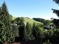 Výhled z chaty do okolí - Čenkovice