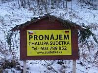 Chalupa Sudetka - chalupa k pronajmutí - 4 Moravský Karlov