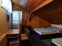 apartmán- podkrovní - ubytování Deštné v O. h.