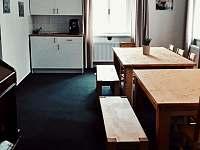Společenská místnost - pronájem apartmánu Dolní Hedeč