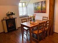 Apartmán pro 5 osob - jídelna
