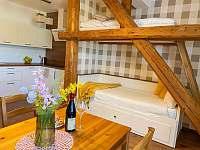 Apartmán pro 5 osob - obývací pokoj