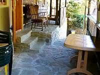 Veranda - terasa na chalupě - pronájem Výprachtice