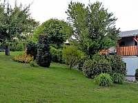 zahrada - apartmán k pronájmu Pastviny