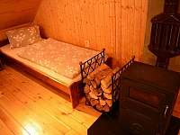 Velká ložnice - pronájem chalupy Mladkov