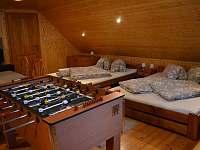Velká ložnice - stolní fotbal - Mladkov
