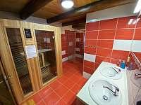 Pohled koupelna - Orlické Záhoří