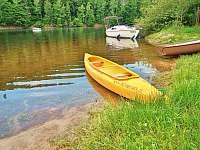 k dispozici kanoe /bezplatně/ - Pastviny