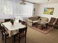 Obývací pokoj - chalupa k pronajmutí Klášterec nad Orlicí