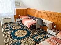 Pokoj pro 2 osoby - chalupa k pronajmutí Klášterec nad Orlicí