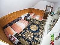 Pokoj pro 2 osoby - chalupa k pronájmu Klášterec nad Orlicí