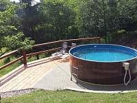 chalupa s bazénem - Kunvald