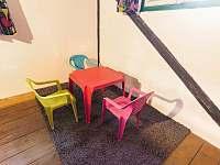 dětský koutek na galerii - Kunvald