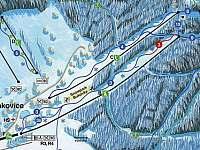 Buková hora sjezdovky 3-4
