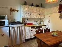 Kuchyně - chata k pronájmu Pastviny - Lhotka