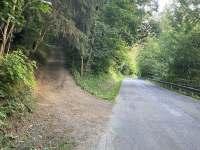 Příjezdová cesta k chatě (směr od Klášterce nad Orlicí do obce Pastviny) -