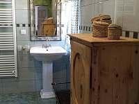 Koupelna s WC  k ložnici 2 spodní apartmá