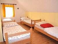 3. ložnice-jiný pohled - pronájem chalupy Letohrad - Kunčice