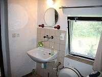 koupelna - chalupa k pronajmutí Letohrad - Kunčice