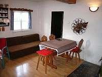společenská místnost - chalupa k pronájmu Letohrad - Kunčice
