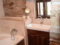 koupelna - pronájem chalupy Jamné nad Orlicí