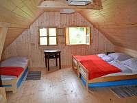 ložnice - chalupa ubytování Jamné nad Orlicí
