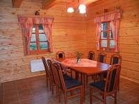 Jídelní kout - chalupa ubytování Olešnice v Orlických horách