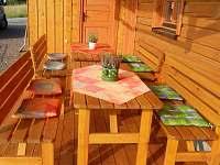 Venkovní terasa - Olešnice v Orlických horách