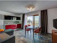 apartmán EXKLUSIVE - obývací pokoj