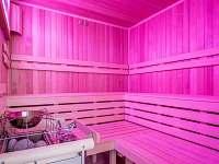 Finská sauna (do 100 metrů od apartmánů)