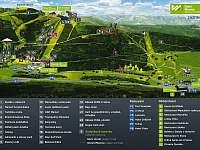 Dolní Morava letní mapa