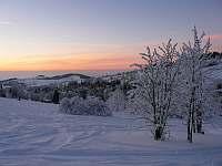 Čenkovice v zimě