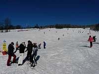 Sjezdovky Vigona a Čenkovická s večerním lyžováním - 100 metrů od chaty