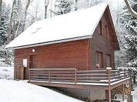 Chata Na Dříši - boční pohled - ubytování Deštné v Orlických horách