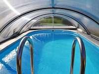 bazén - chata k pronajmutí Bušín