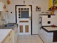 přízemí kuchyně - Bušín
