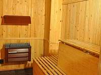 wellnes - finská sauna - Bušín
