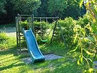 zahrada - pronájem chaty Bušín